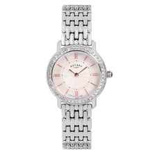 Rotary Women's Quartz Watch with Mother of Pearl Dial Analogue Display and Silver Stainless Steel Bracelet LB00346/41