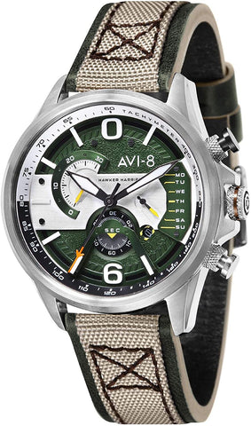 AVI-8 Men's Hawker Harrier II 43mm  Quartz Watch AV-4056-02