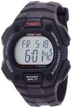 Timex Unisex Quartz Watch with LCD Dial Digital Display and Black Resin Strap