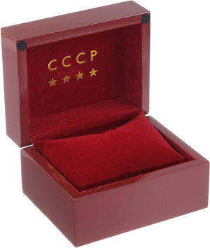 CCCP Men's CP-7001-04 Sputnik 1 Limited Edition Analog Display Automatic Self Wind Black Watch