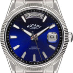 Rotary Men's Quartz Watch with Blue Dial Analogue GB02660/05