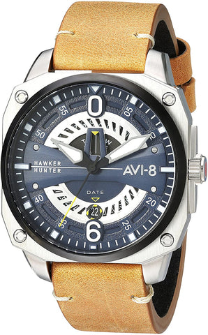 AVI-8 Men's Hawker Hunter 45mm  Quartz Watch AV-4057-02