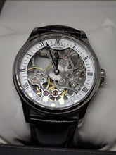 ROTARY MENS SKELETON MECHANICAL Stainless Steel Case B.L Strap WatchGS02521/06
