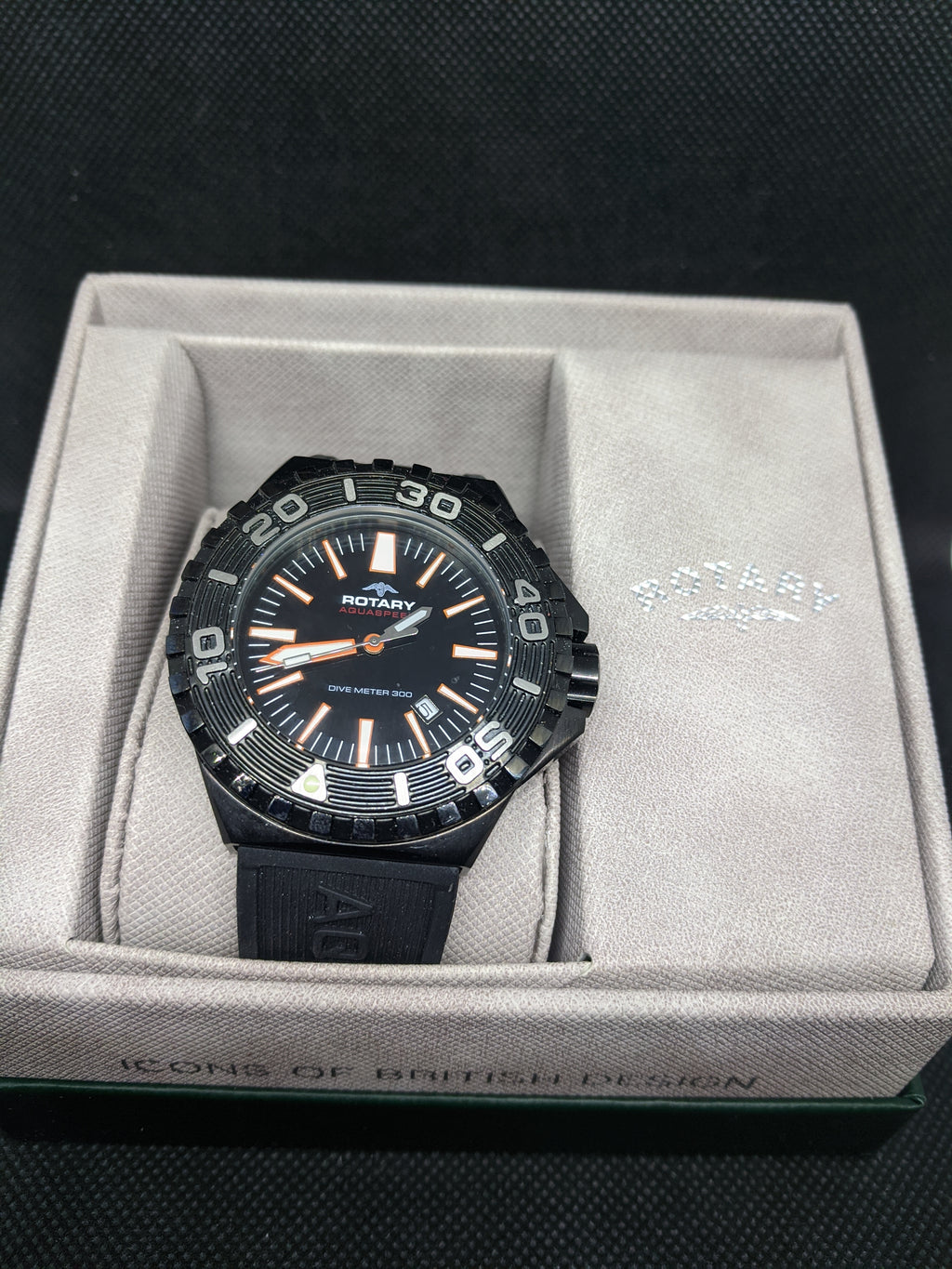 Mens Rotary Aquaspeed Watch AGS00055/W/28