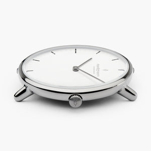Native | White Dial - 5-Link