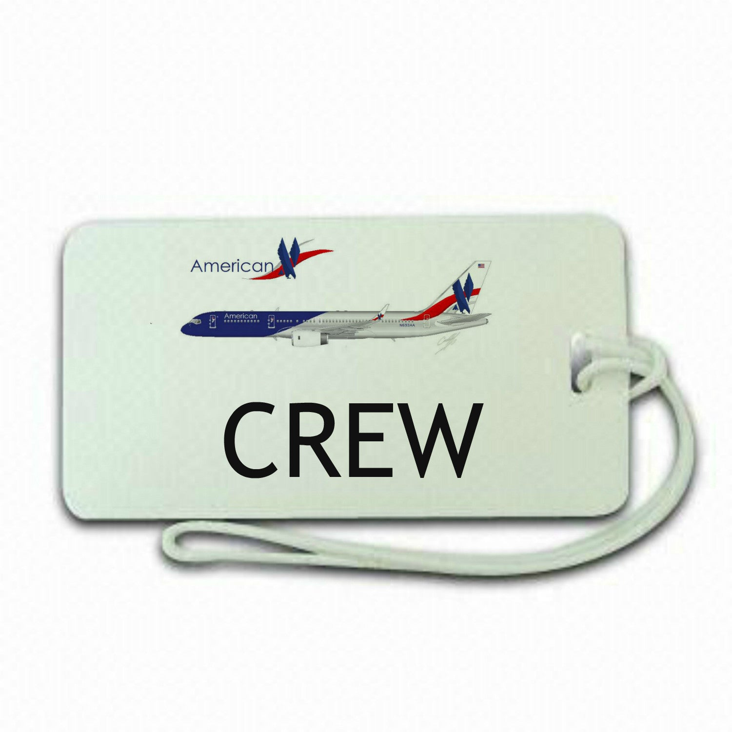 United Airways Crew Luggage Tag -  Inflightgoods