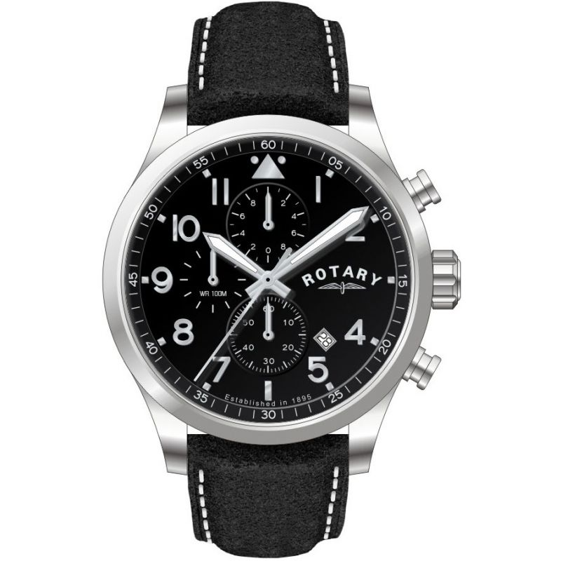 Mens Rotary  Chronograph Watch GS00184/04