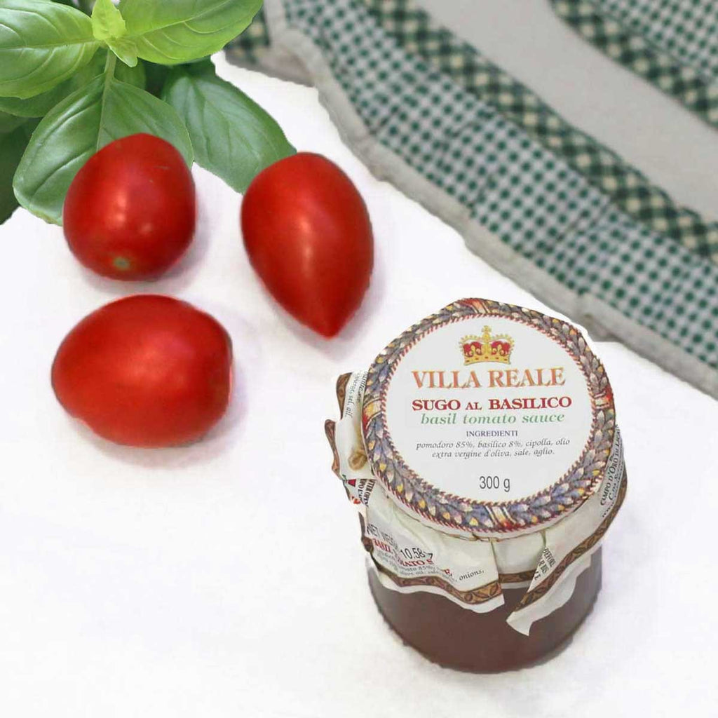 Tomato Sauce With Basil, Villa Reale