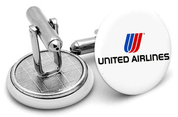 United Airlines Mens Cufflinks