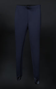 Leggings - Navy With metal rivets