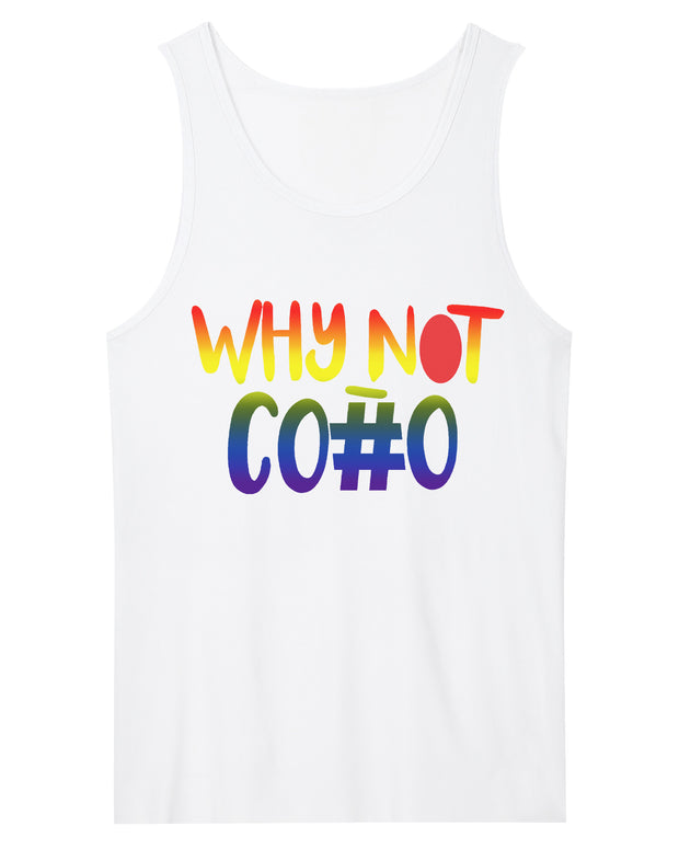 WhyNotCo#o Men Tank Top