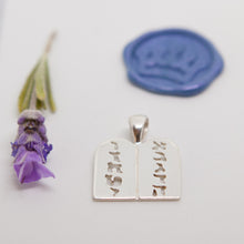 Load image into Gallery viewer, Ten Commandments Pendant