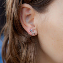Load image into Gallery viewer, Aleph Tav Stud Earrings