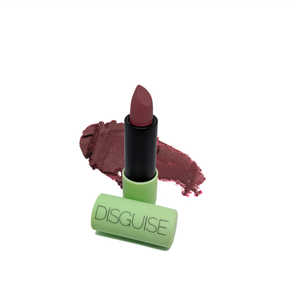 Disguise Cosmetics - Ultra-Comfortable Satin Matte Lipstick - Mentor - Clean Beauty Booth