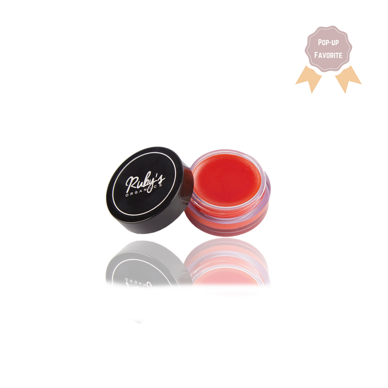 Ruby's Organics - Lip Balm - Tinted Red Cinnamon - OUT OF STOCK