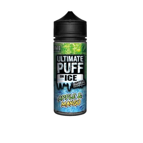 Ultimate Puff On Ice 0mg 100ml Shortfill