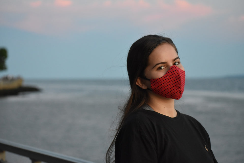 Curved Cotton Face Mask