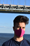 Face Mask Curved Cotton Magenta - BKBTailoring