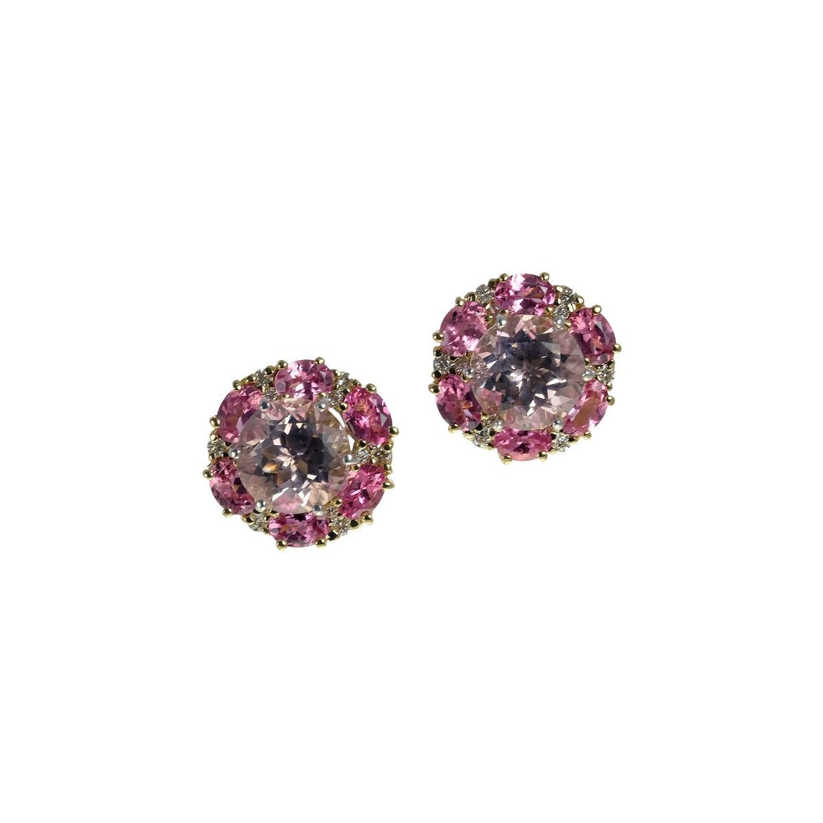 Pink Spinel Jacket, 13mm, YG