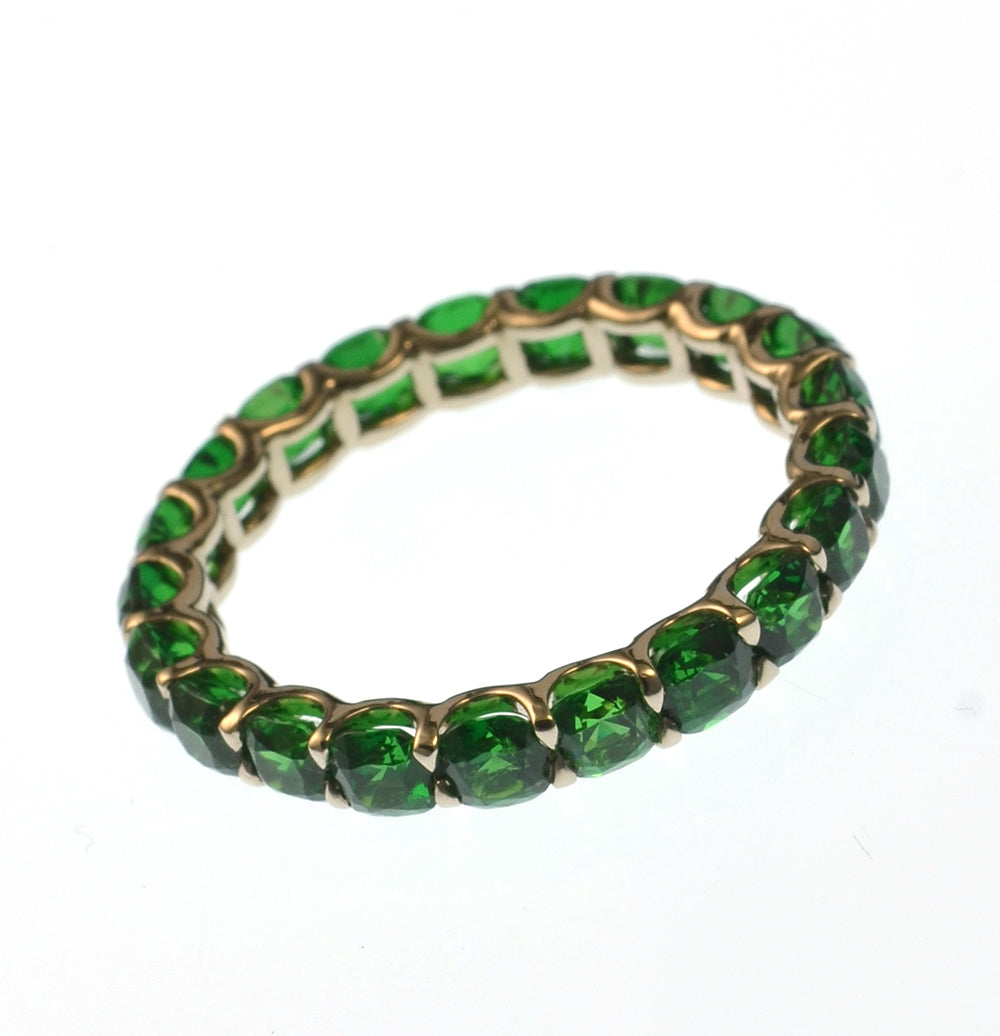 Tsavorite IVY Eternity Ring