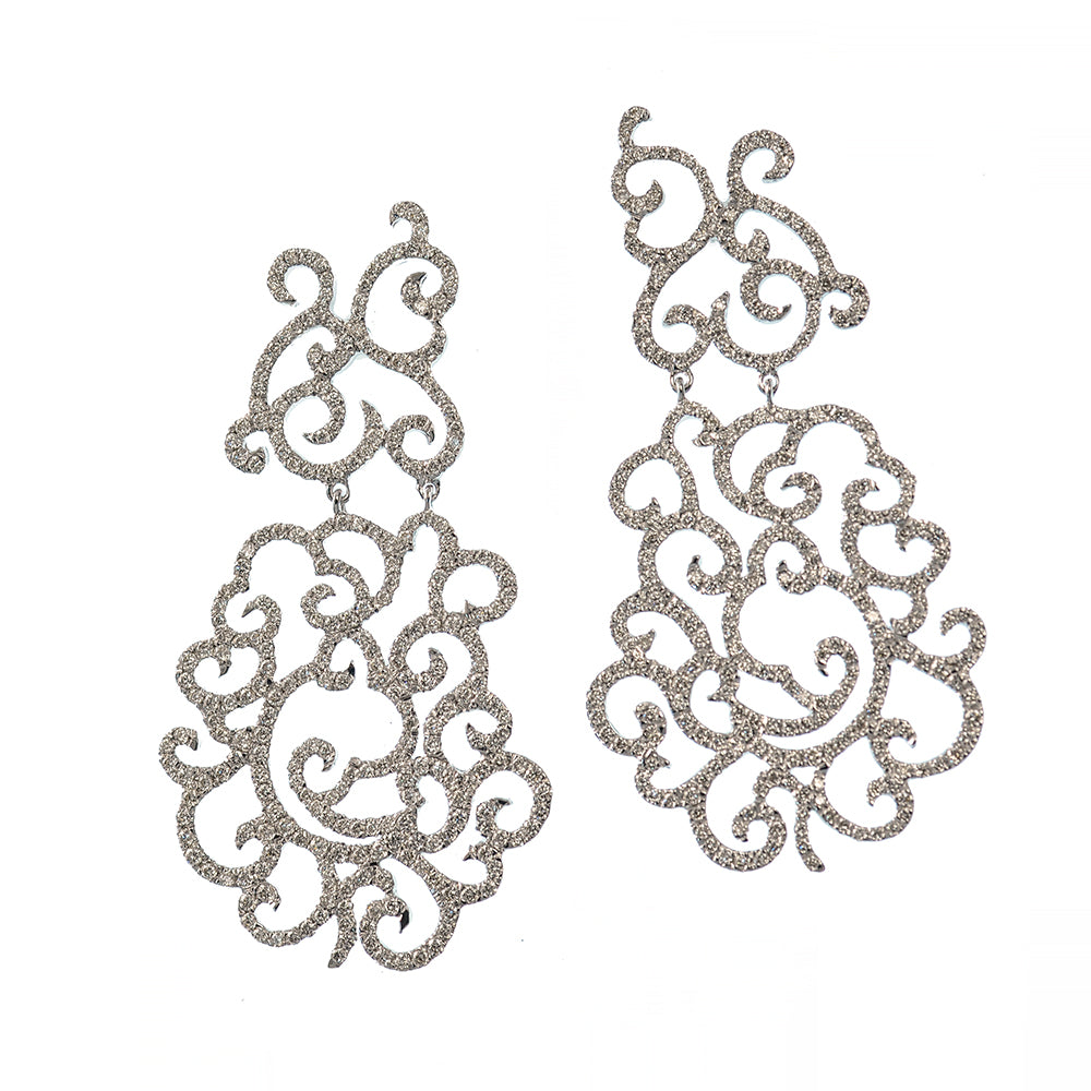 Outline of Clouds Earrings