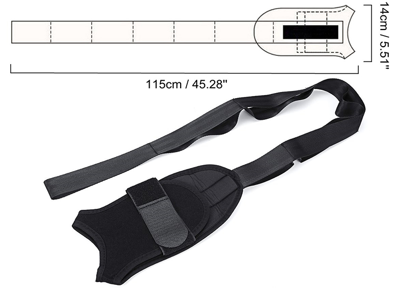 Ligament Stretching Belt - Pain Relief & Safely Stretching Rehabilitation Training Strap