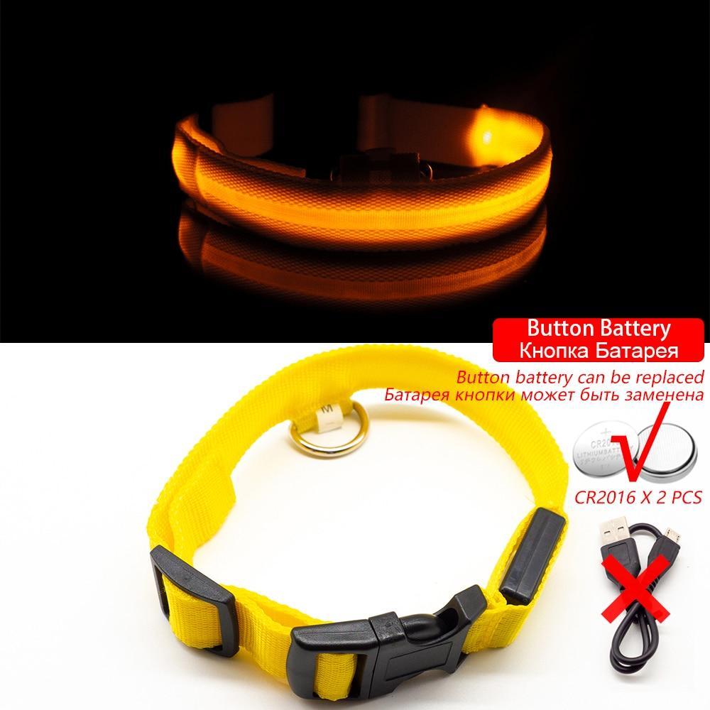 LED Pet Safety Collar - Keep Your Pet In Sight At Night