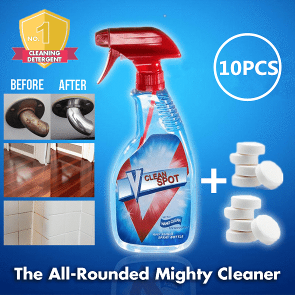 Multifunctional Effervescent Spray Cleaner Set——Over $39 free shipping worldwide