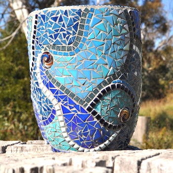 DECORATIVE MOSAIC POT PROJECT