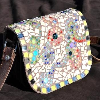 HOW TO MAKE A MOSAIC HANDBAG