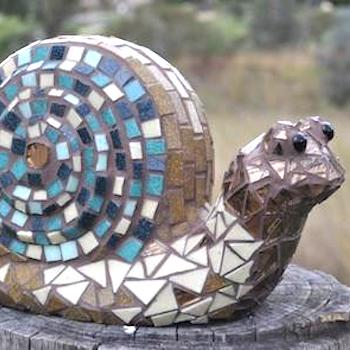 How To Make A Mosaic Snail
