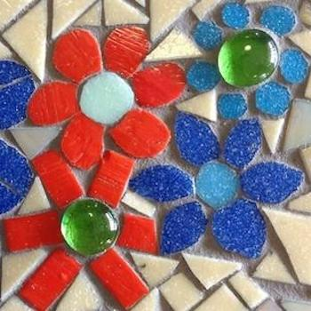 HOW TO MAKE MOSAIC FLOWERS (INCLUDING PATTERNS)