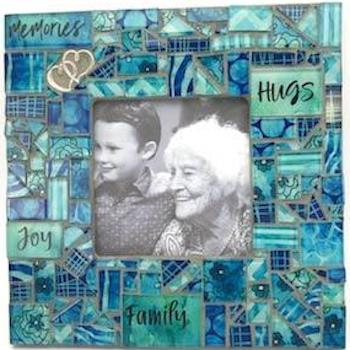 Handmade Mosaic Photo Frame