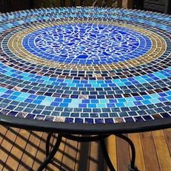 LEARN HOW TO MAKE A MOSAIC TABLE - PROJECT INSTRUCTION SHEET