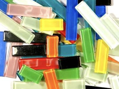 Mixed Glass Rectangles