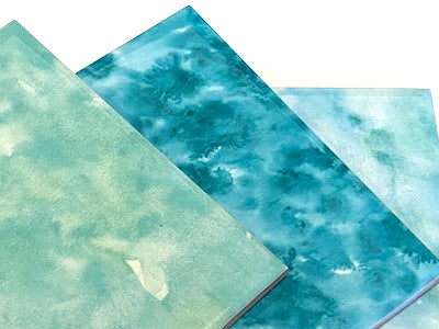 Watercolour Textured Ceramic Tiles 10x10cm