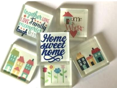 Themed Glass Tiles