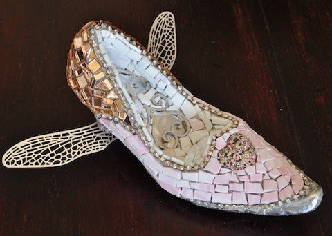 magical mosaic shoe project
