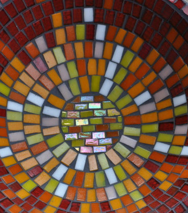 mosaic design closeup