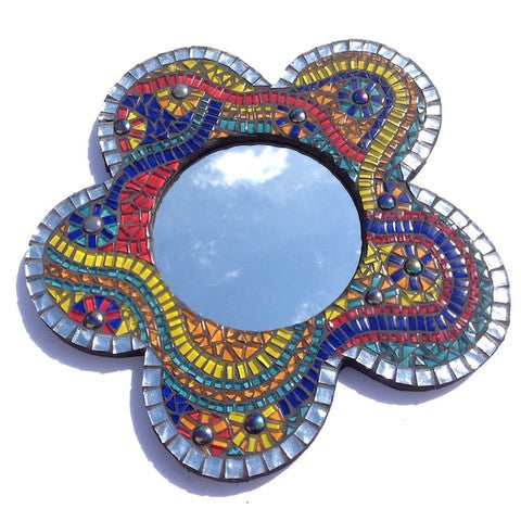 Carnival Mosaic Mirror Project Kit