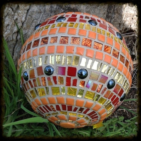 Mosaic Glazing Ball