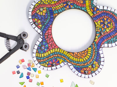 Mosaic Kits are the easy way to start mosaic craft