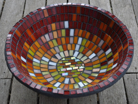 How To Make A Mosaic Bowl Step By Step Great Beginners