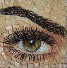 learn how to create eyes in a mosaic