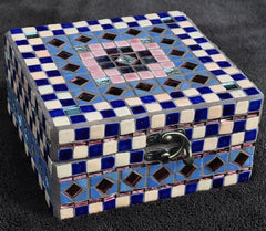 how to make a mosaic jewellery box