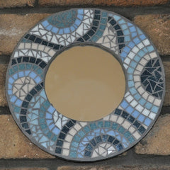 how to make a mosaic mirror