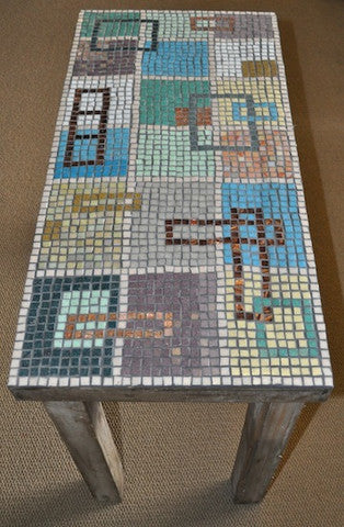 mosaic table project
