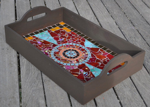 mosaic tray project