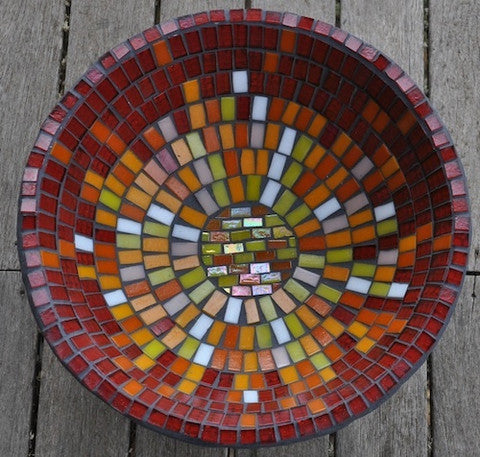 How to make a mosaic bowl
