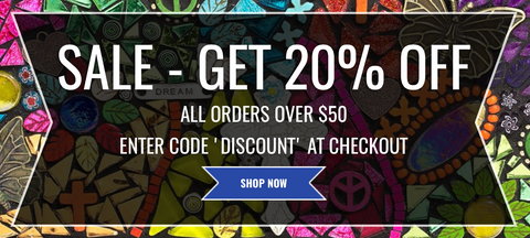 GET 20% OFF ALL ORDERS OVER $50